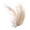 Marabou Feathers 5-6in .25lb Cream